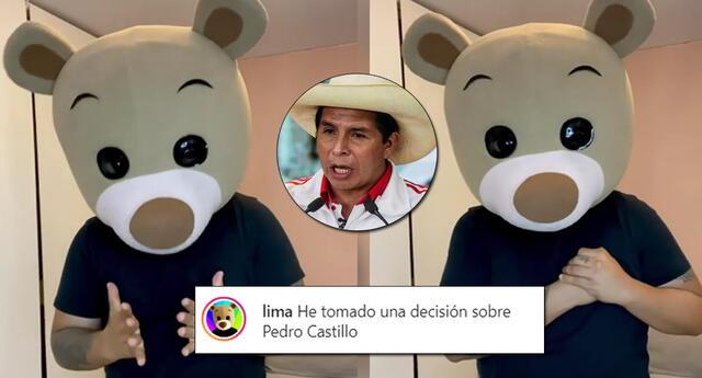 El influencer Osito Lima respalda la candidatura de Keiko Fujimori.