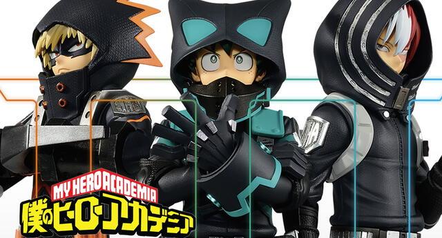 My Hero Academia laza increíbles figuras de los protagonistas de la tercera película