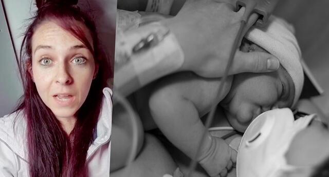 Mujer revela que dio a luz mientras dormía y su testimonio se vuelve viral en vídeo