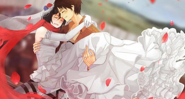 Shingeki no Kyojin: Mikasa anunció su boda y los fans celebran el matrimonio inesperado
