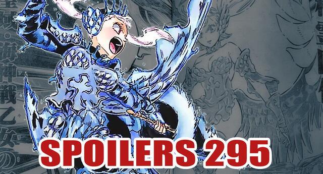 Black Clover 295 spoilers: ¡Una nueva armadura! La revancha entre Noelle y Vanica inicia