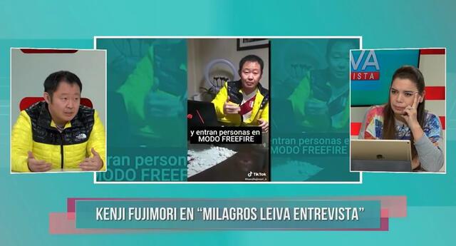Kenji Fujimori explica su campaña 'comunismo modo gamer'.