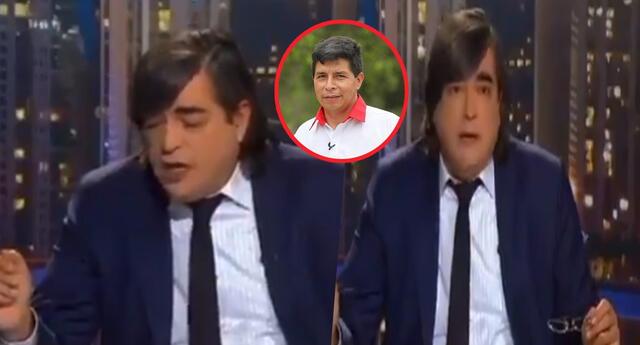 Jaime Bayly se vuelve viral por quebrarse en vivo tras conteo rápido a favor de Pedro Castillo