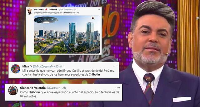 Andrés Hurtado genera memes en las redes sociales por contabilización de votos.