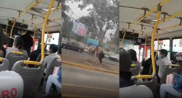 Perú: conductor deja bus con pasajeros para ir a votar en la segunda vuelta.