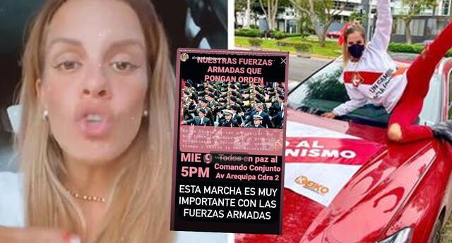 Alejandra Baigorria recibe críticas por llamar a las Fuerzas Armadas a