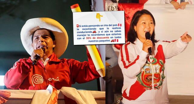 Escuela de manejo ofrece promociones a peruanos que se quieran ir del país.