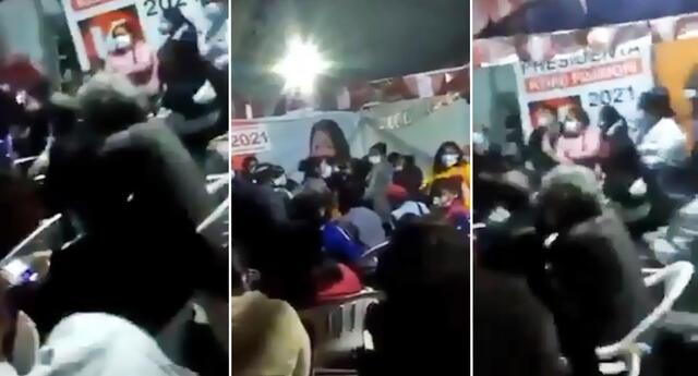 Personero de Fuerza Popular denuncian que solo les quieren pagar 10 soles por su labor.