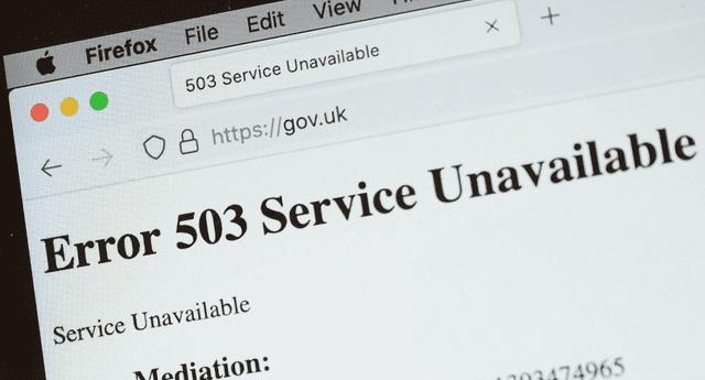 Fastly tuvo un fallo general en su red, lo que provocó que miles de páginas web se caigan por horas./Fuente: Getty Images.