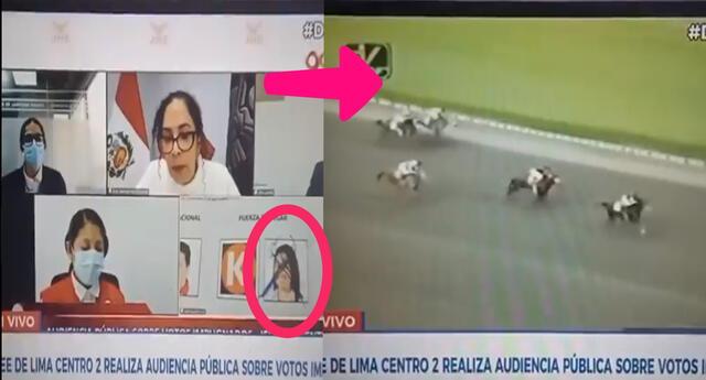 Canal N cortó transmisión de cédula de Keiko Fujimori marcada con