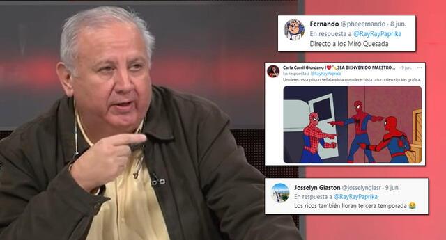 El padre de Mijael Garrido Lecca se volvió tendencia en redes por sus comentarios.