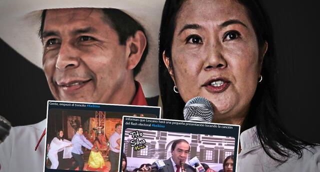 Segunda vuelta electoral : Nace tendencia #Keikino en Perú, en referencia a Keiko Fujimori