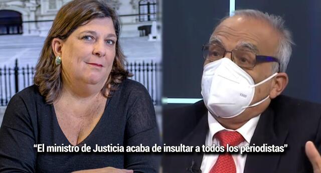 Rosa María Palacios considera 'inaceptable' las palabras de Aníbal Torres contra la prensa (Foto: GLR - John Reyes/RPP)